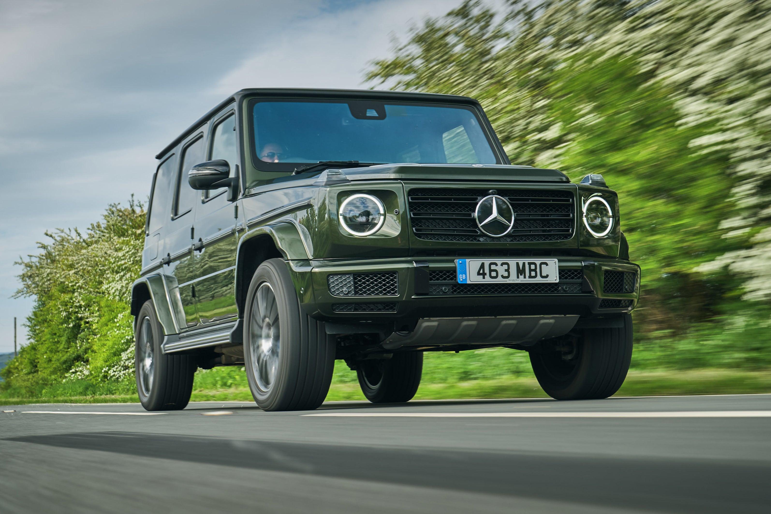Mercedes G-Class frontright exterior