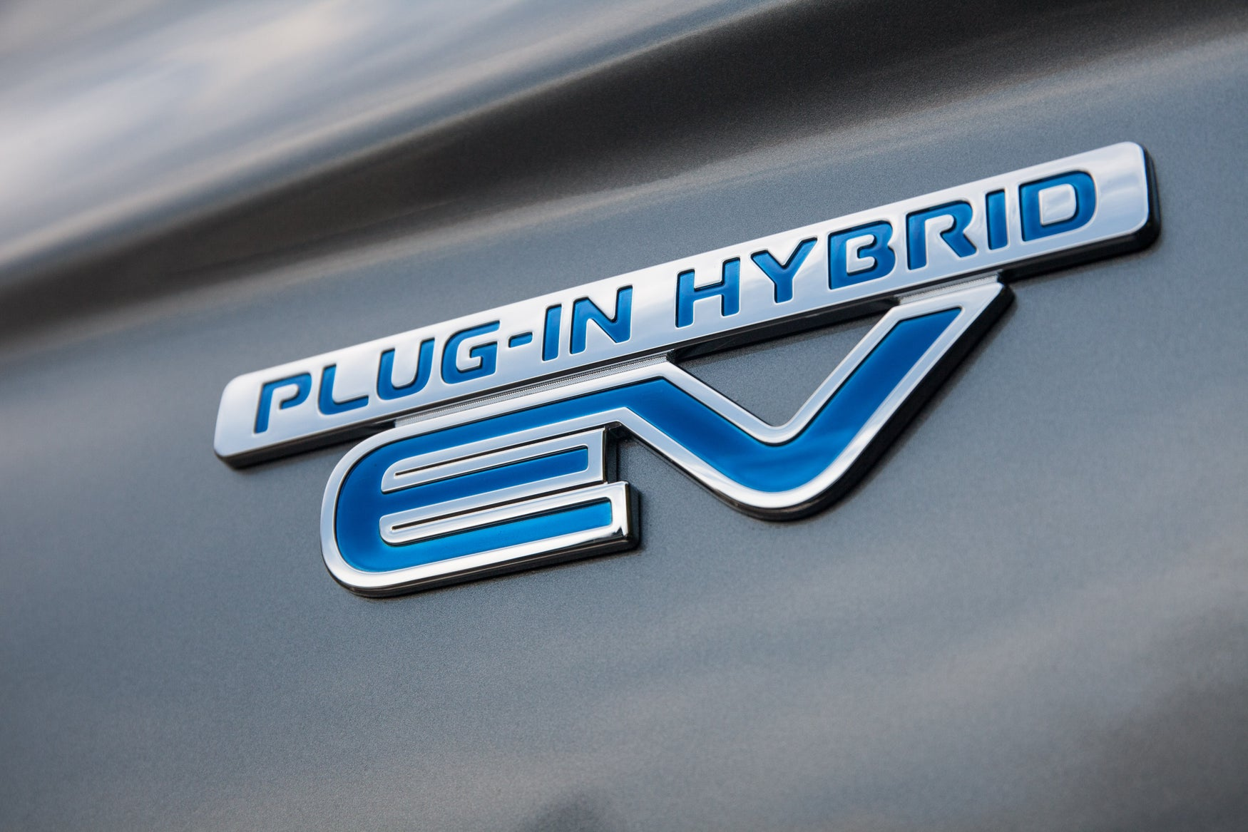 PHEV badge on Outlander PHEV