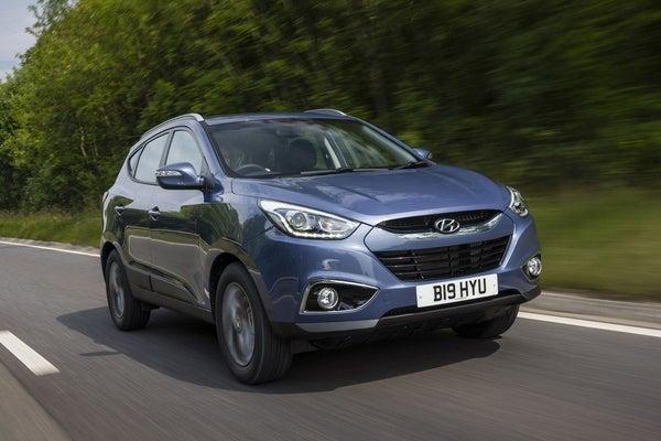 Hyundai ix35 driving