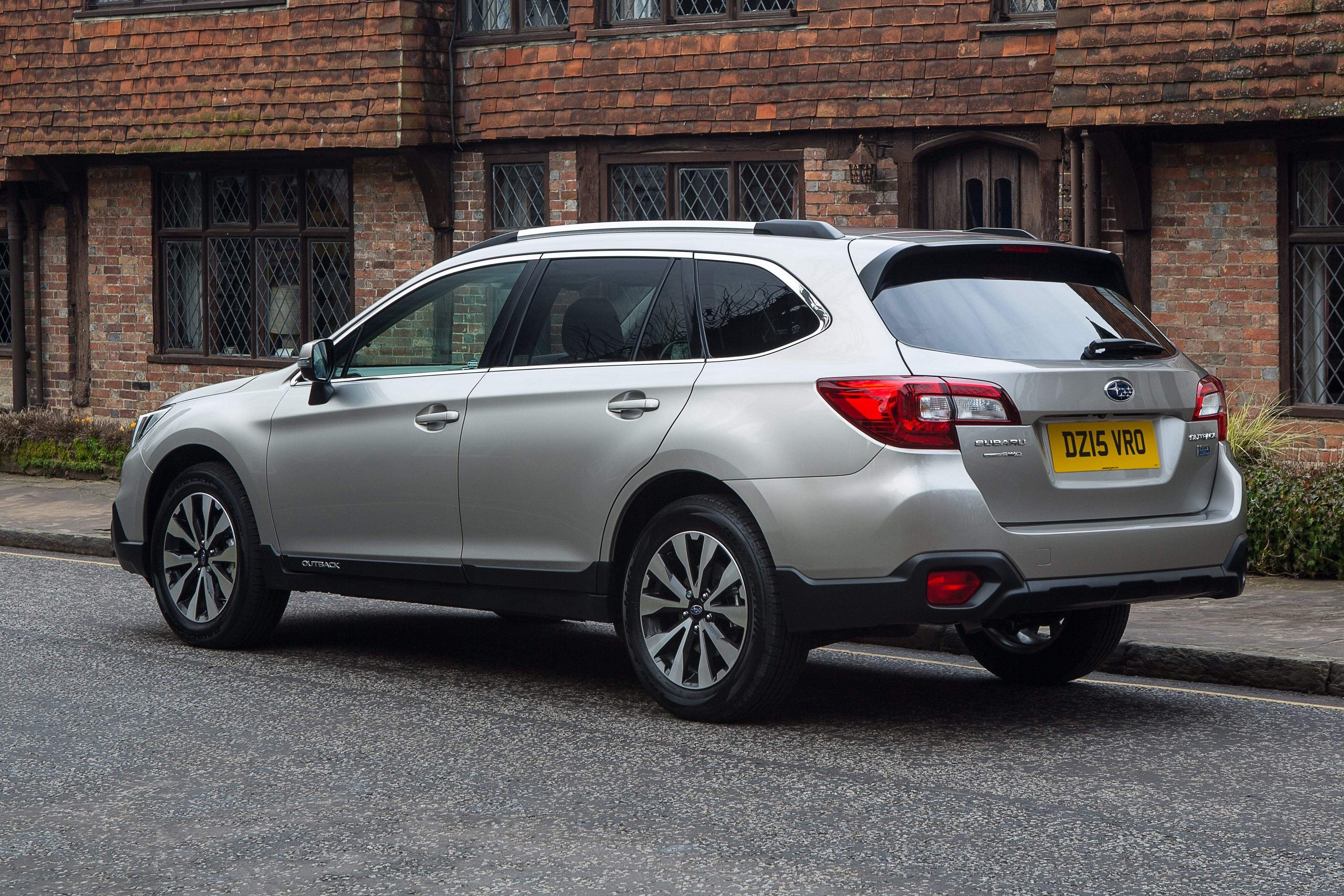 Subaru Outback Rear Side View