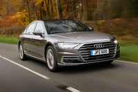 Audi A8 Driving Front