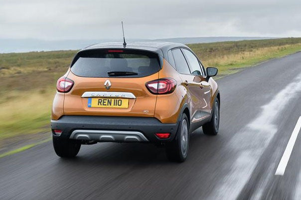 Renault Captur Rear View