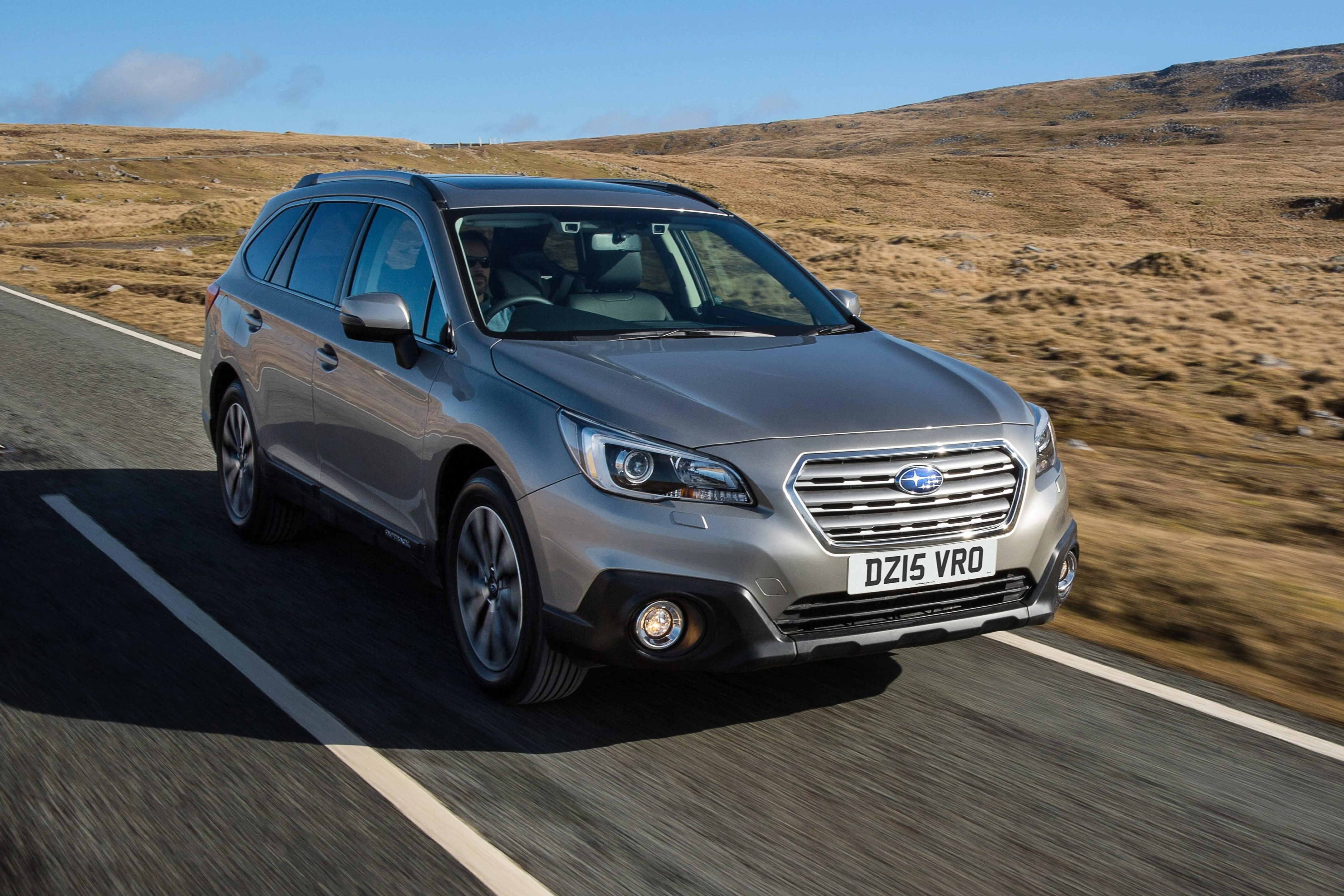 Subaru Outback Front View