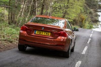 BMW 4 Series Driving Back