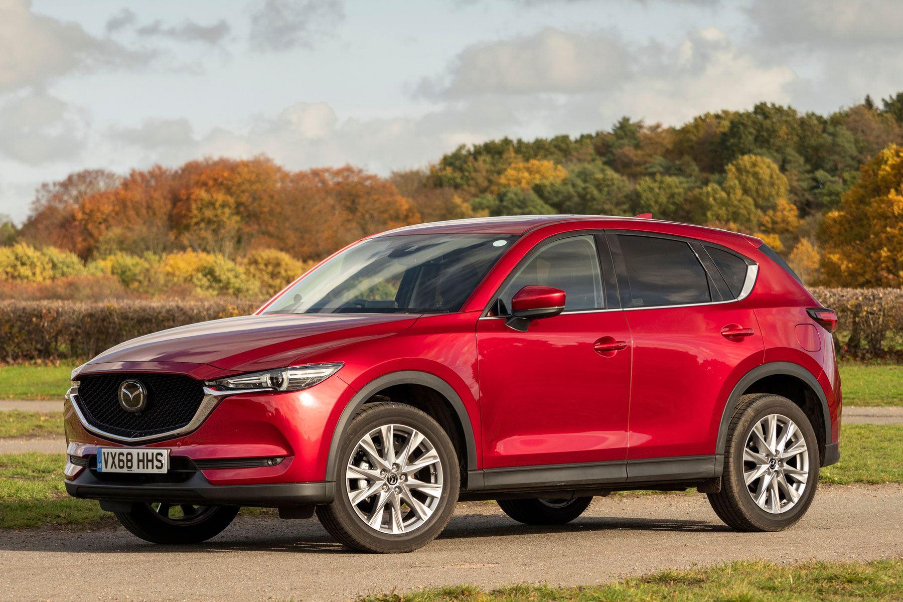 Mazda CX-5 2017 side exterior