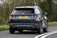 Hyundai Tucson Review 2021: exterior dynamic rear