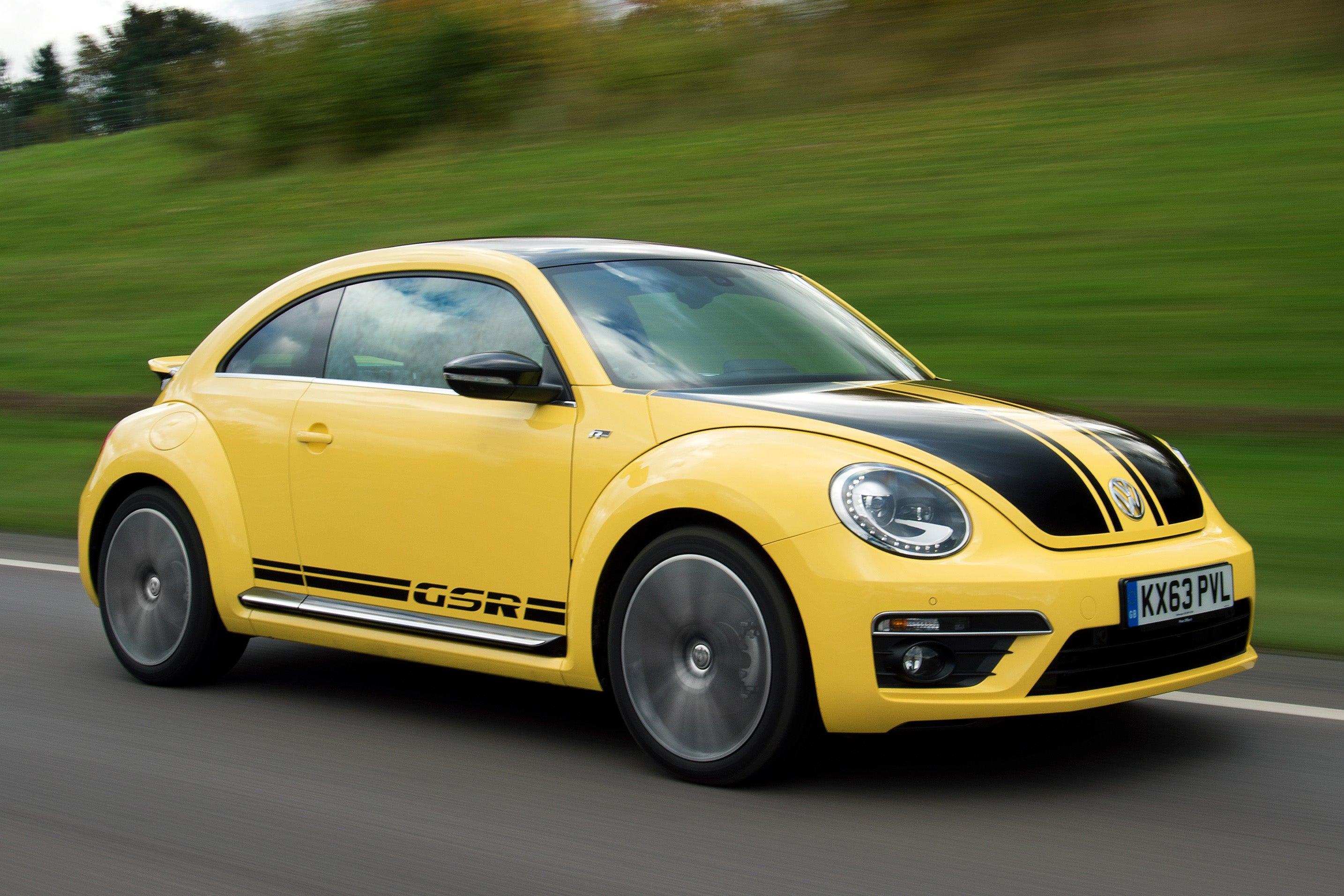 Volkswagen Beetle Front Side View