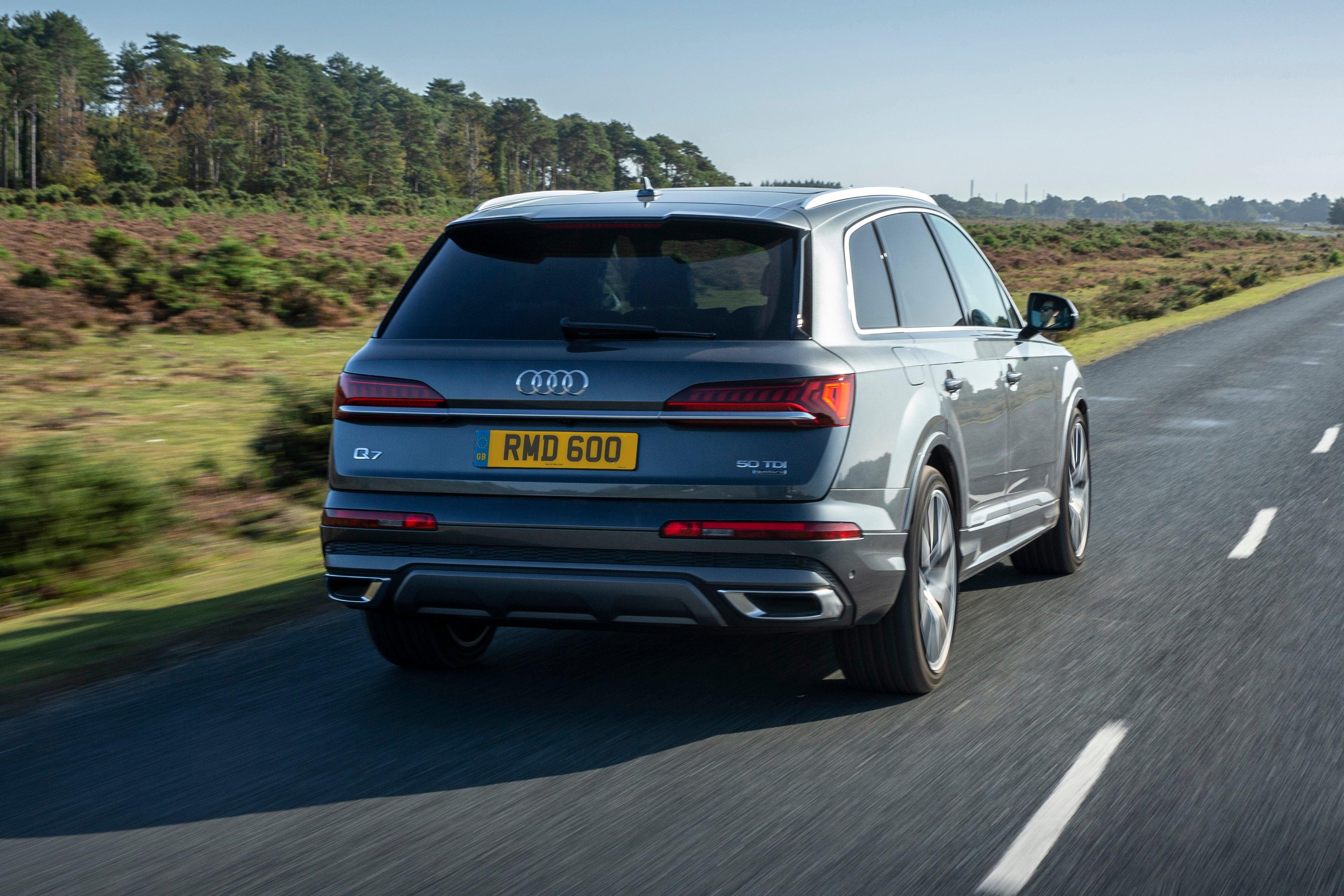Audi Q7 Driving Back