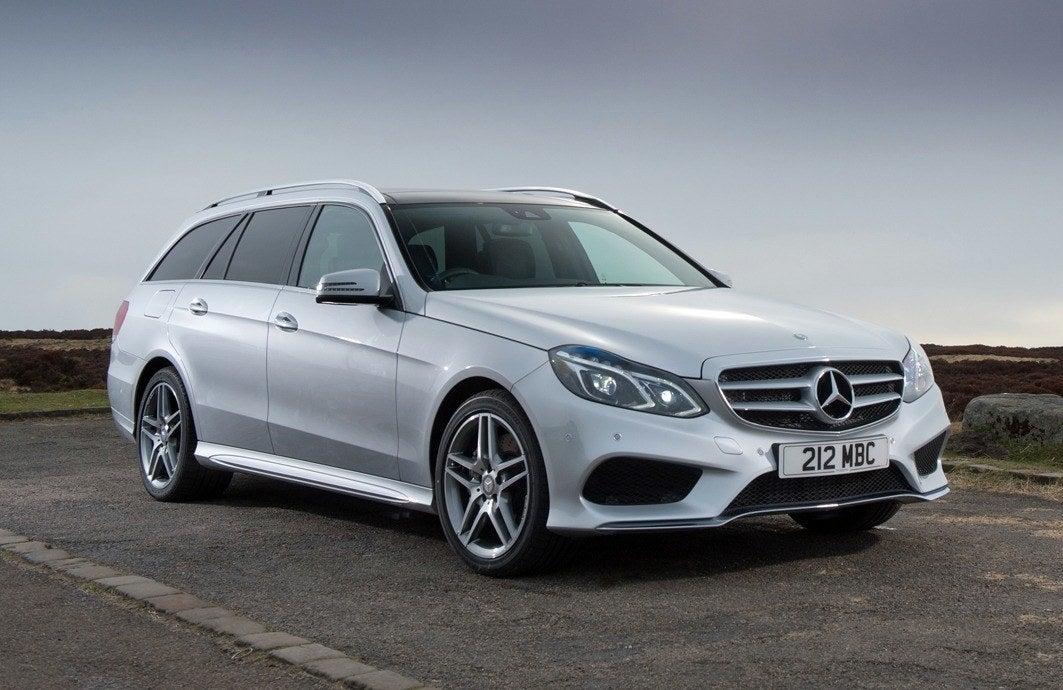 Mercedes E-Class Estate silver