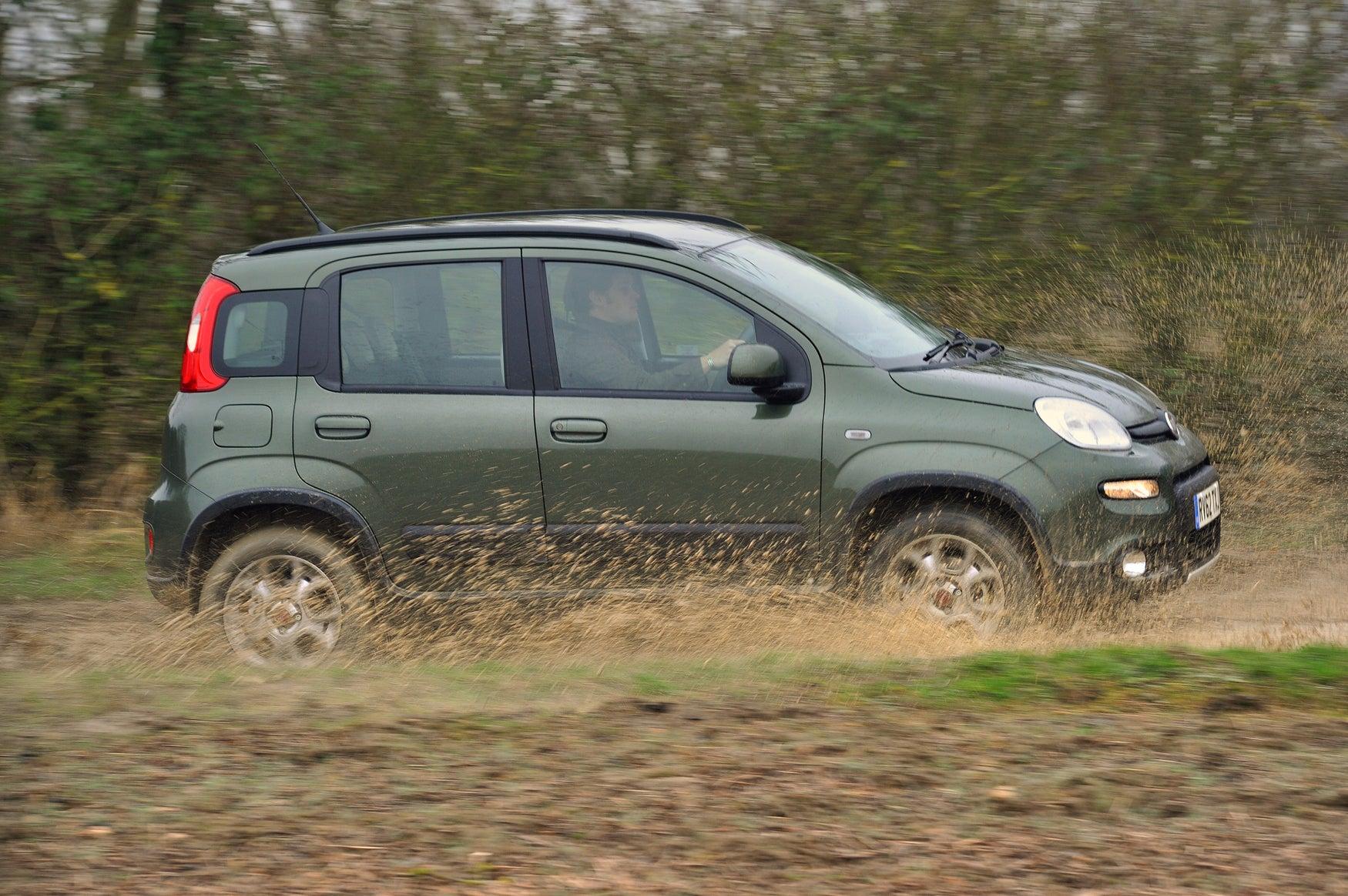 Fiat Panda 4x4 Side