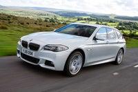 BMW 5 Series Touring Driving
