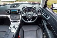 Mercedes SL (2012) front interior