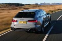Audi RS6 Driving Back