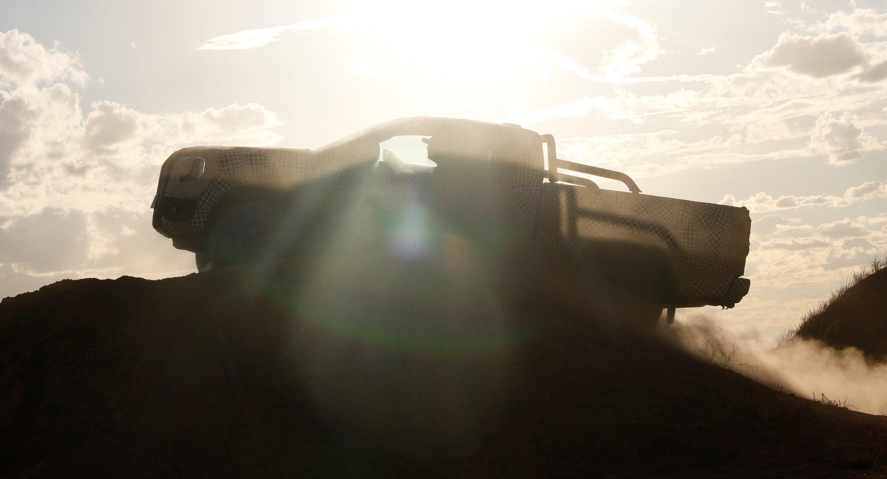 2022 Ford Ranger off road