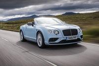Bentley Continental GTC Driving