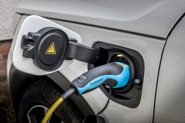 Volvo XC40 Recharge Charging Port