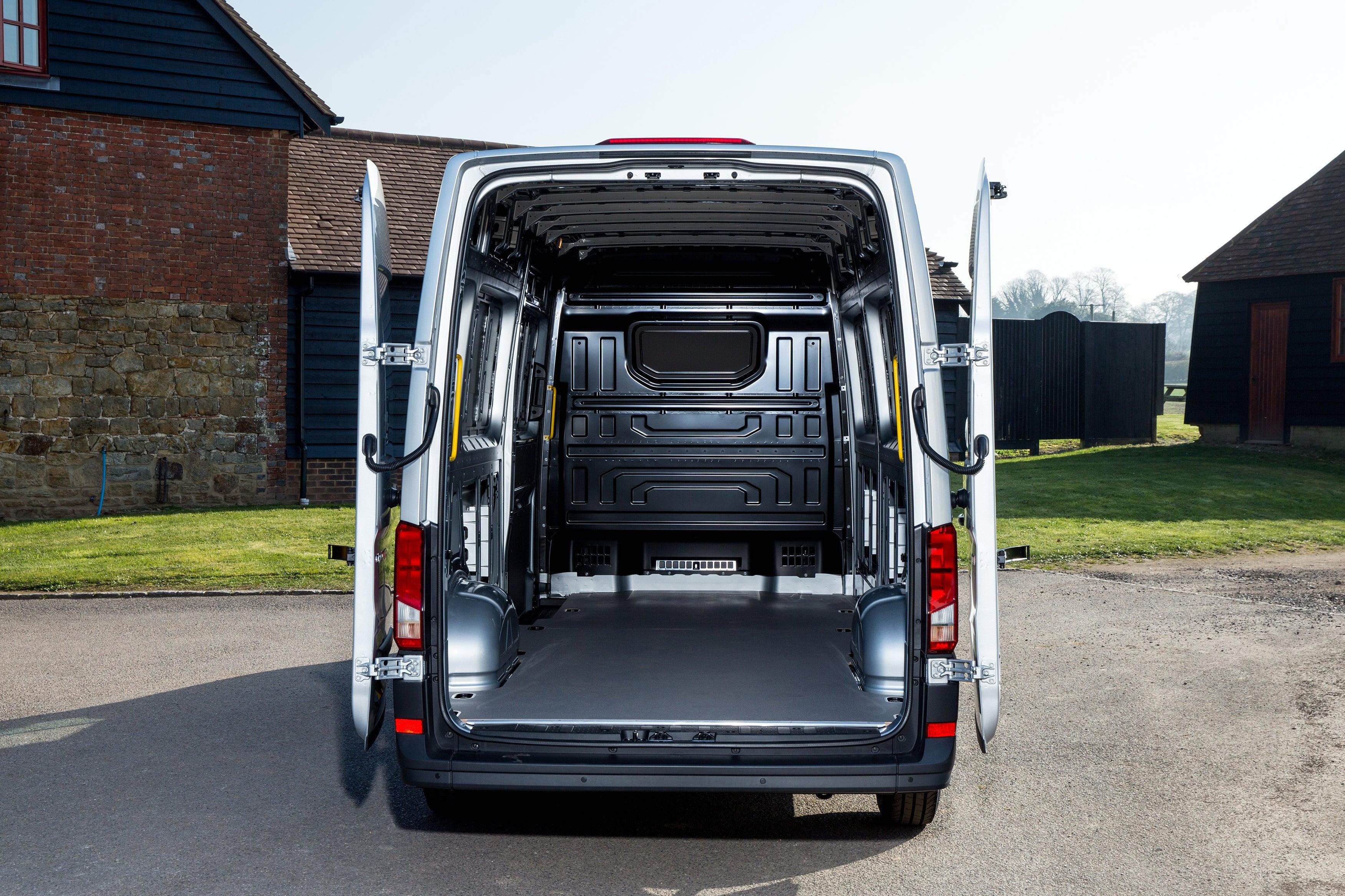 Volkswagen Crafter Inside Van