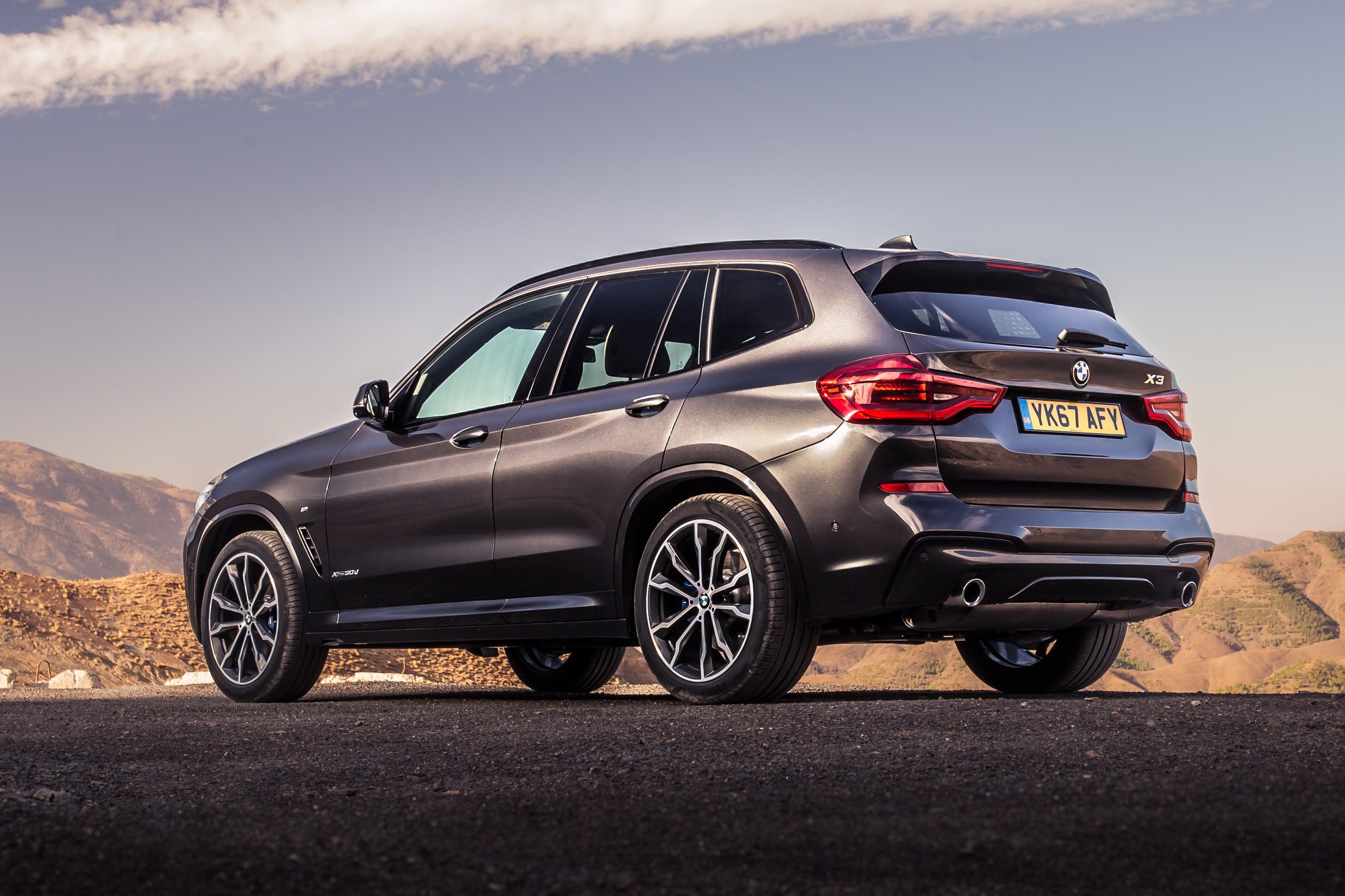 BMW X3 Back