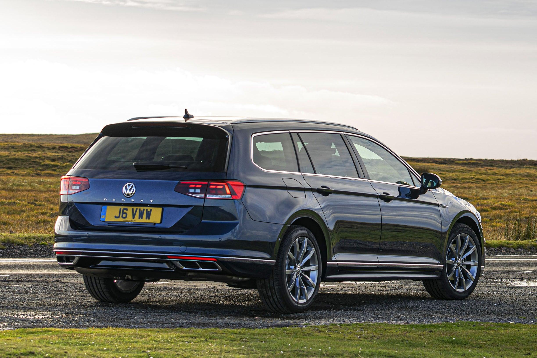 Volkswagen Passat Estate Side Rear View
