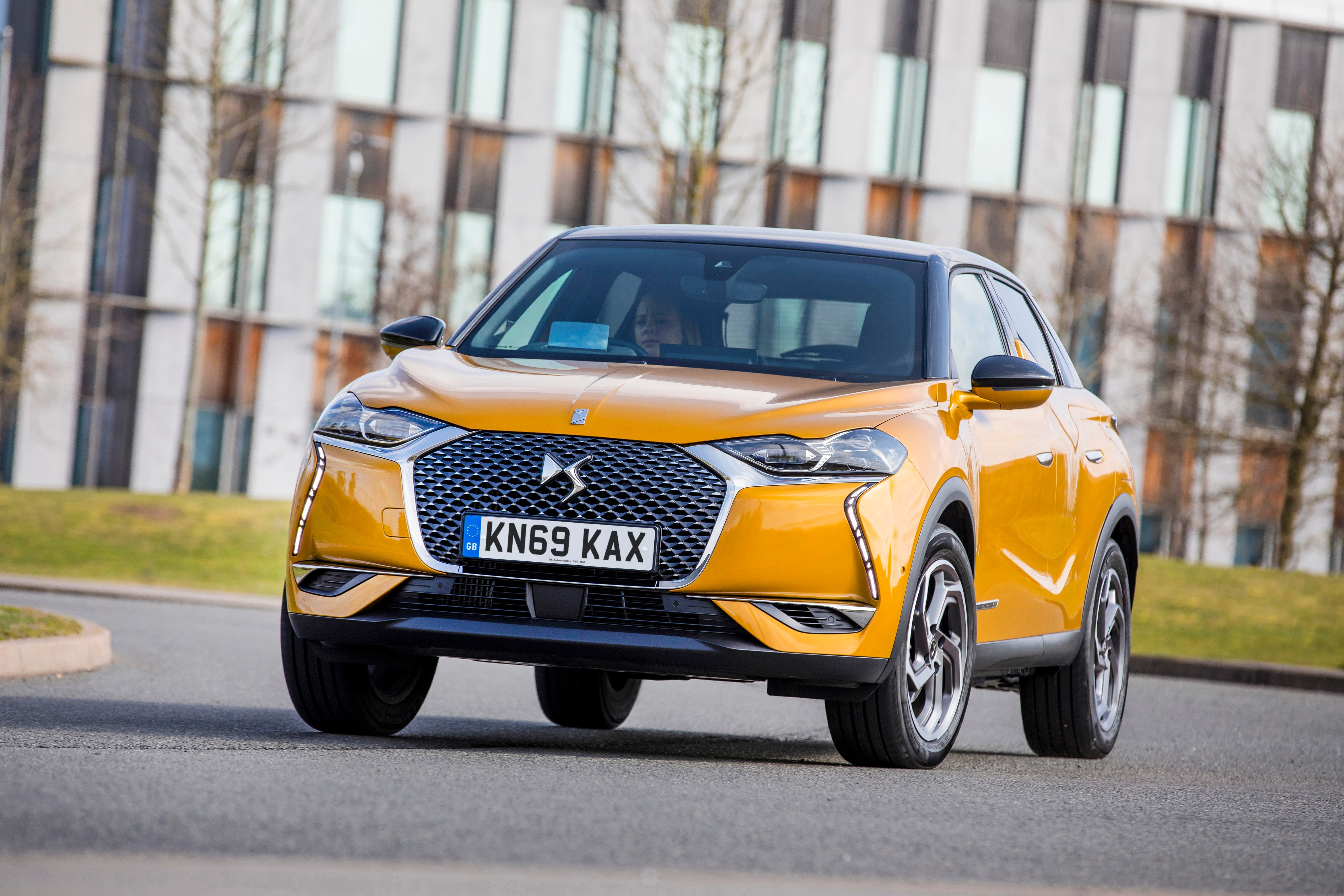 DS3 Crossback Driving