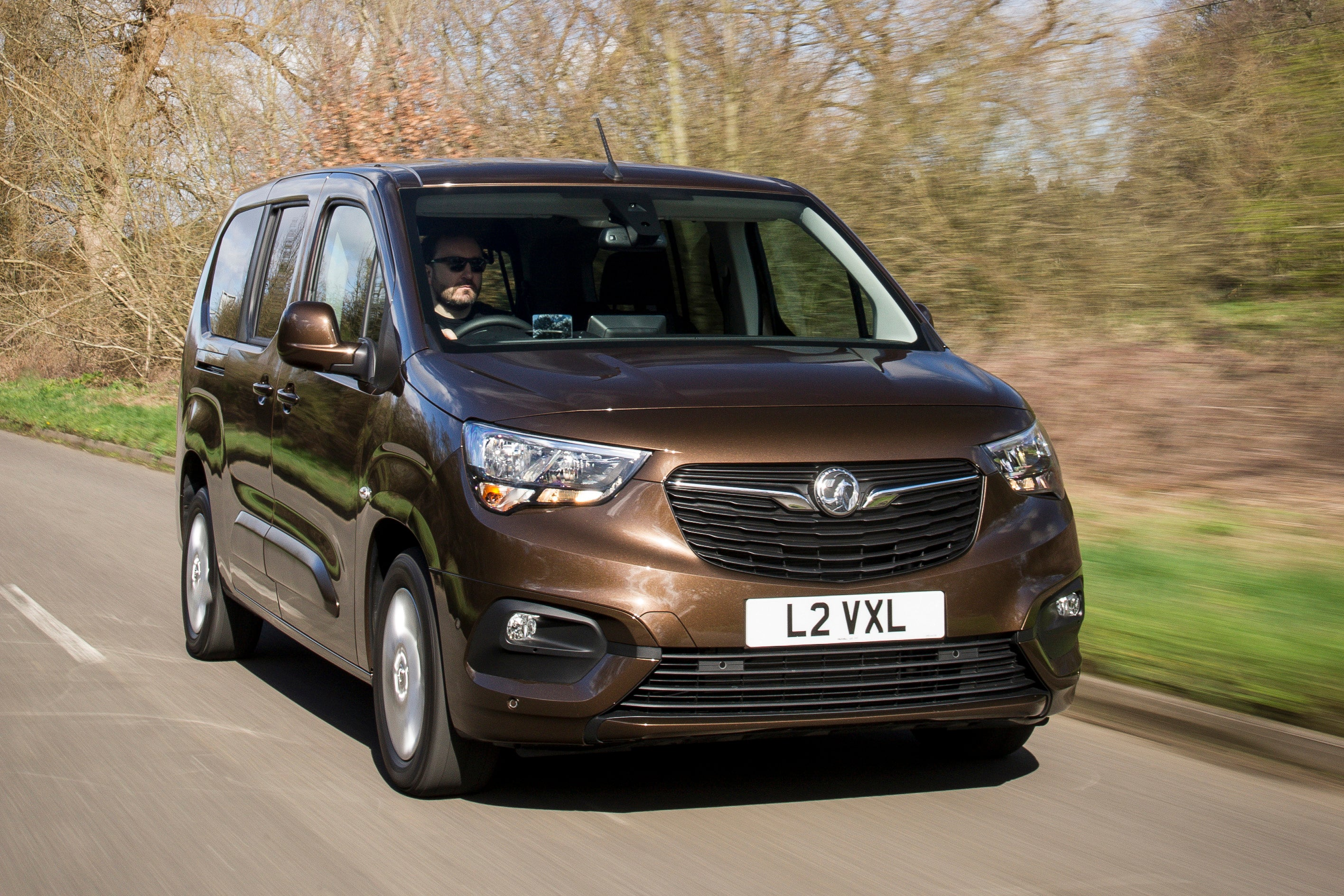 Vauxhall Combo Life Front View