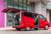 Ford Tourneo Custom PHEV doors open