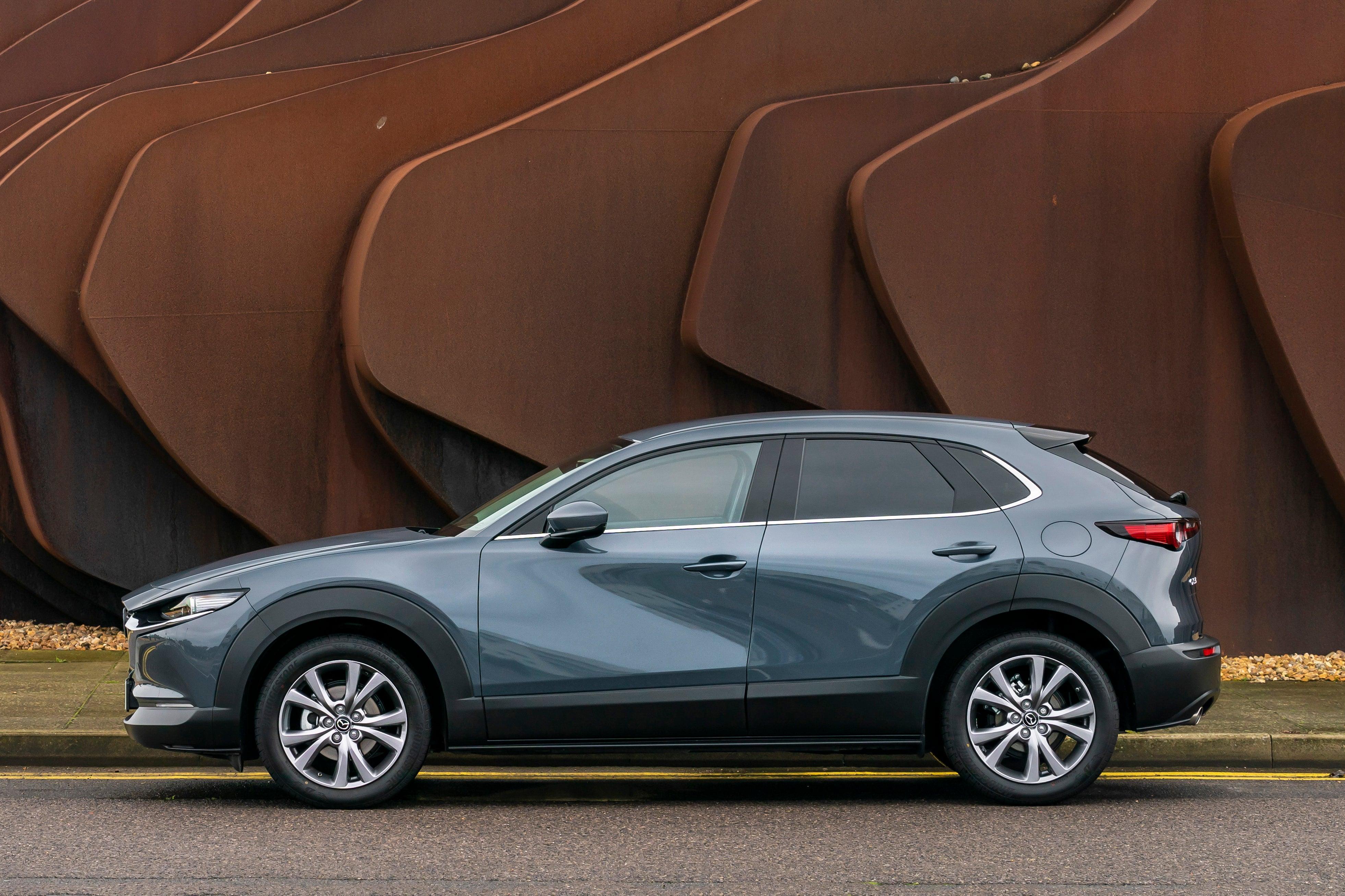 Mazda CX-30 side profile