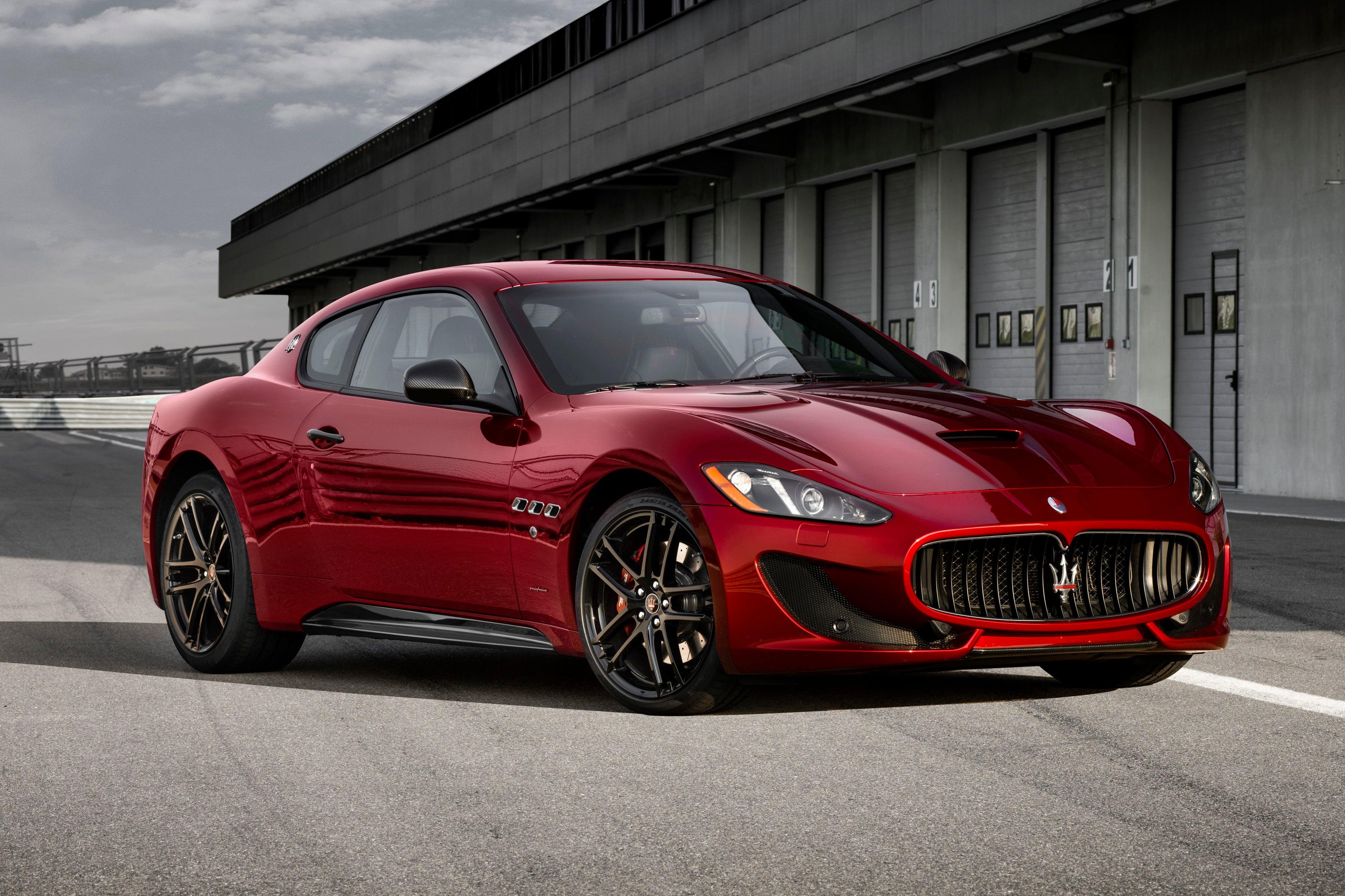 Maserati GranTurismo parked