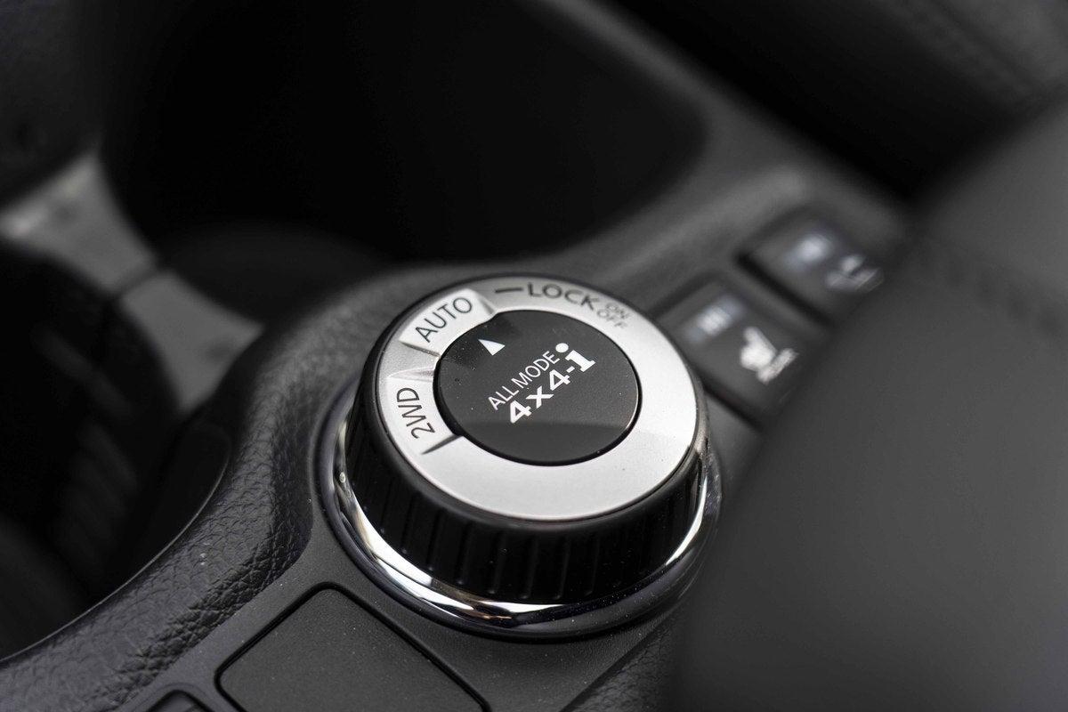 Nissan X-Trail switch