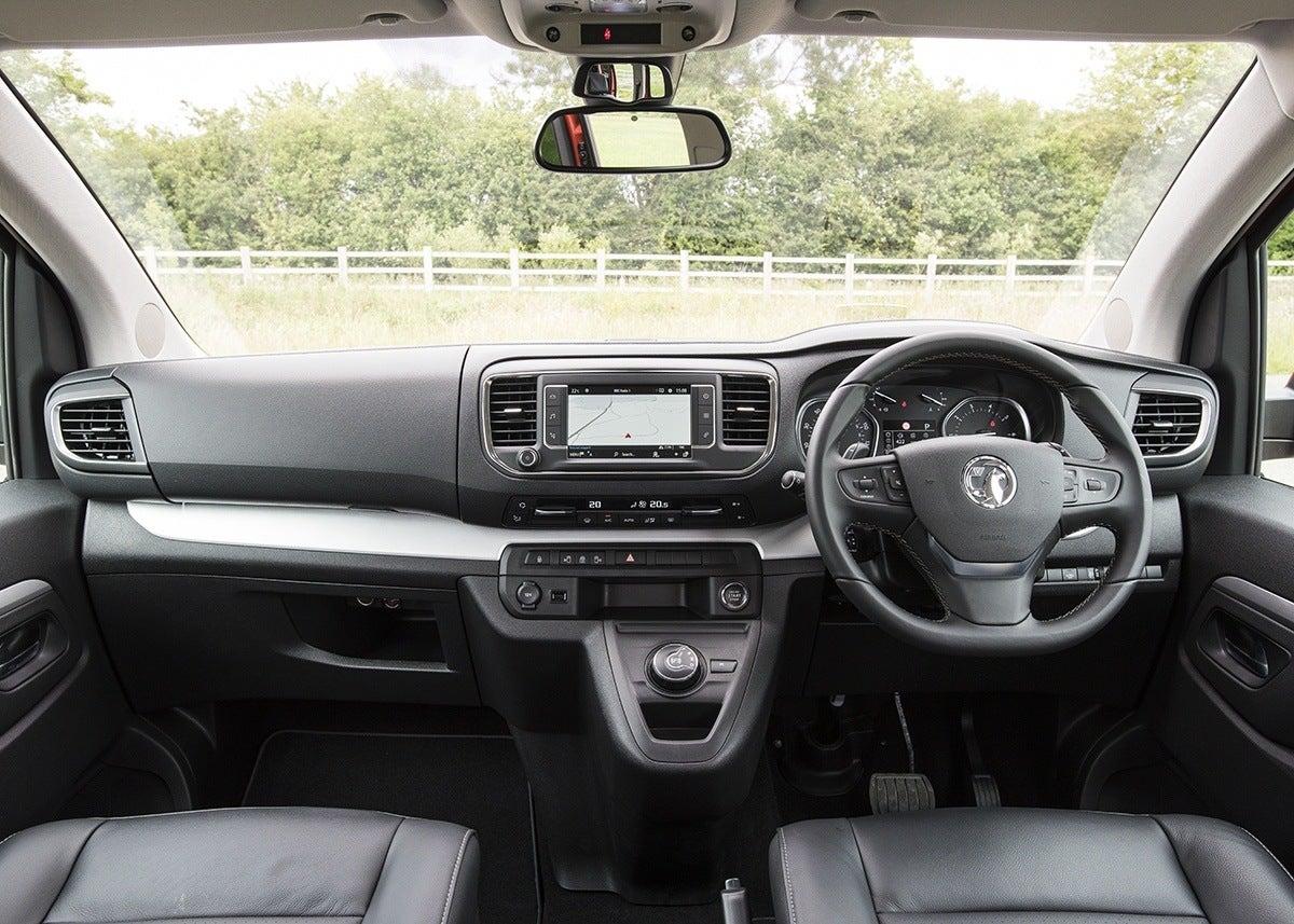 Vauxhall Vivaro Life Front Interior