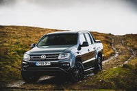 Volkswagen Amarok Front Side View