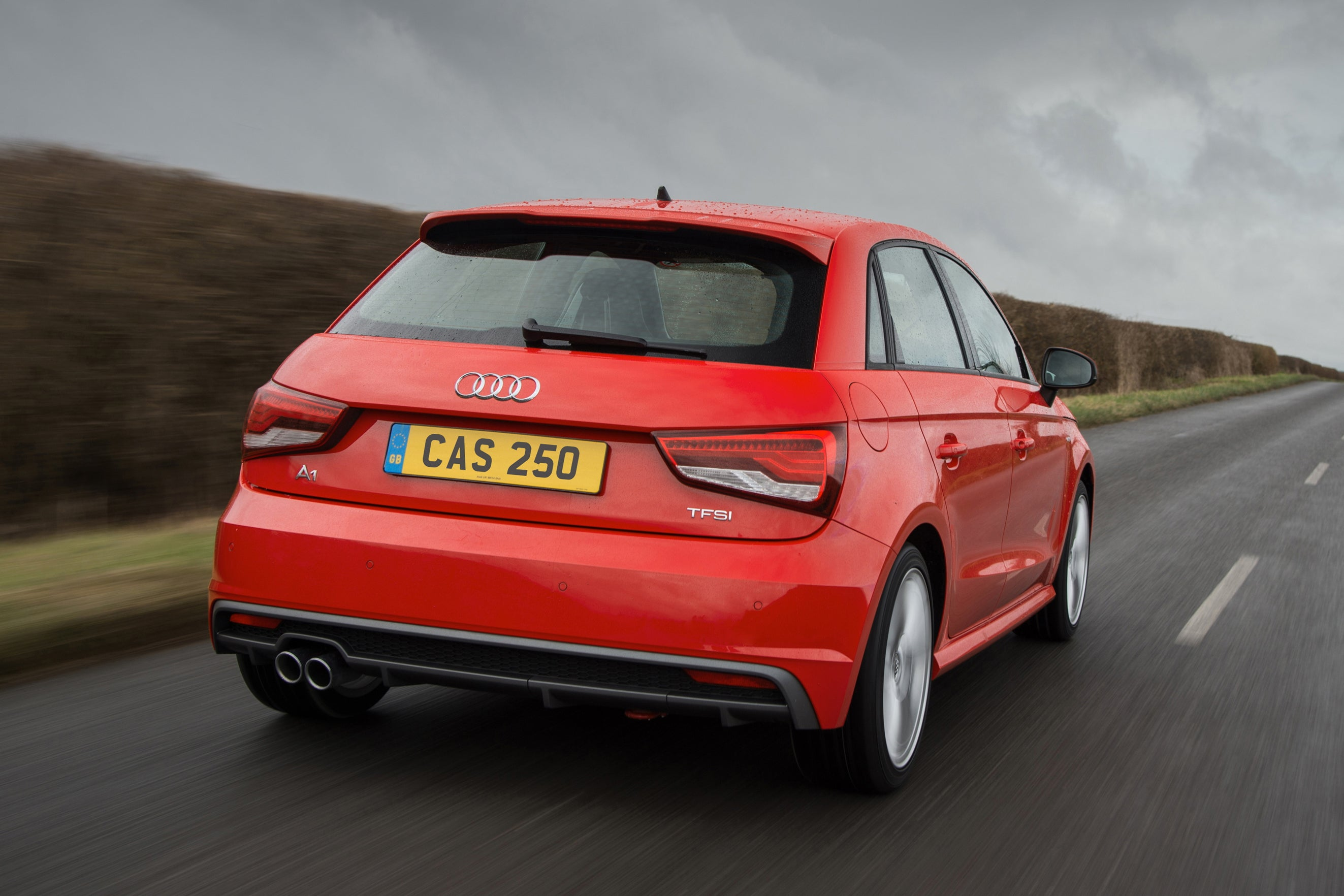 Audi A1 Sportback Driving Back