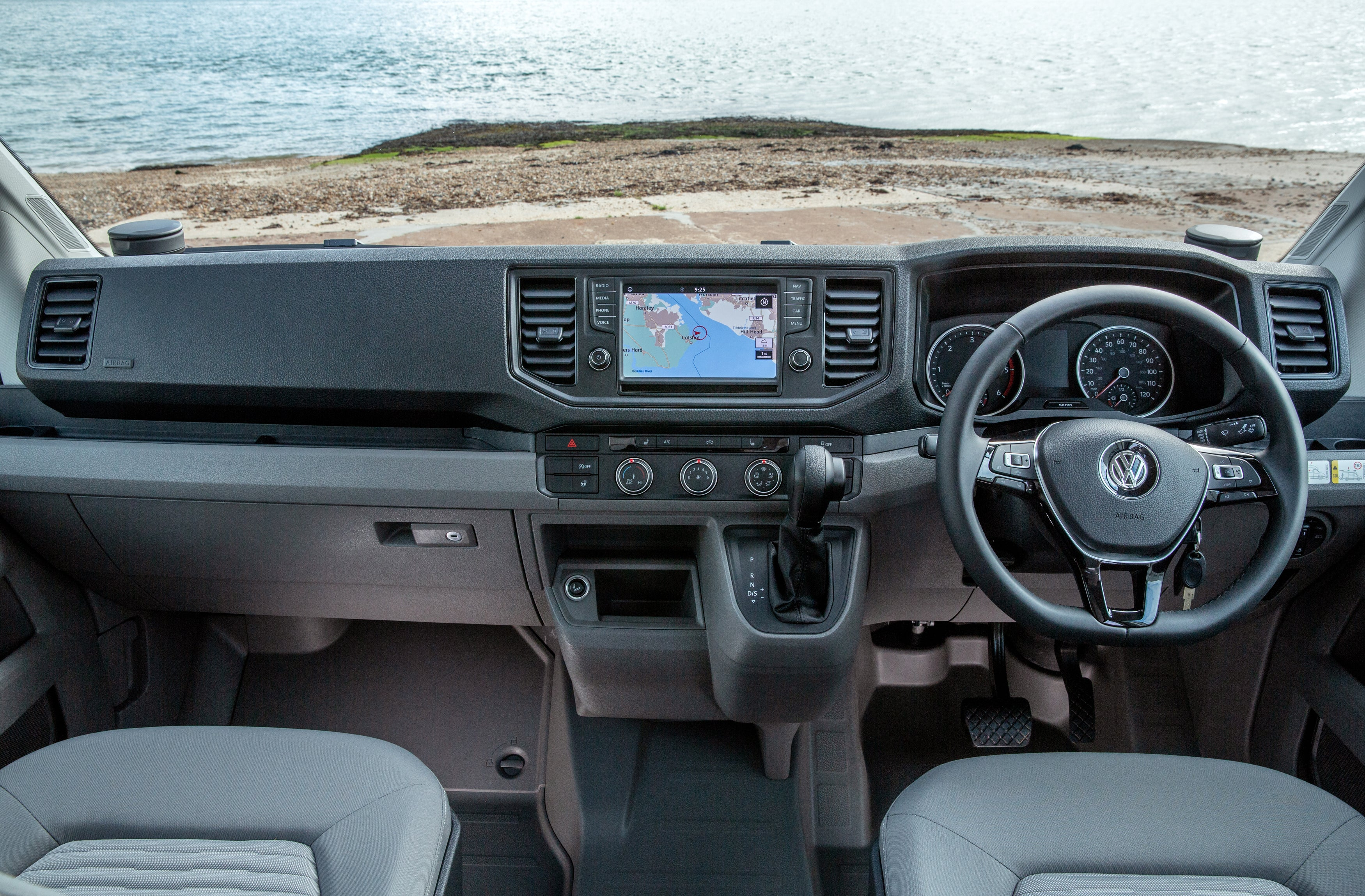 Volkswagen Grand California Front Interior
