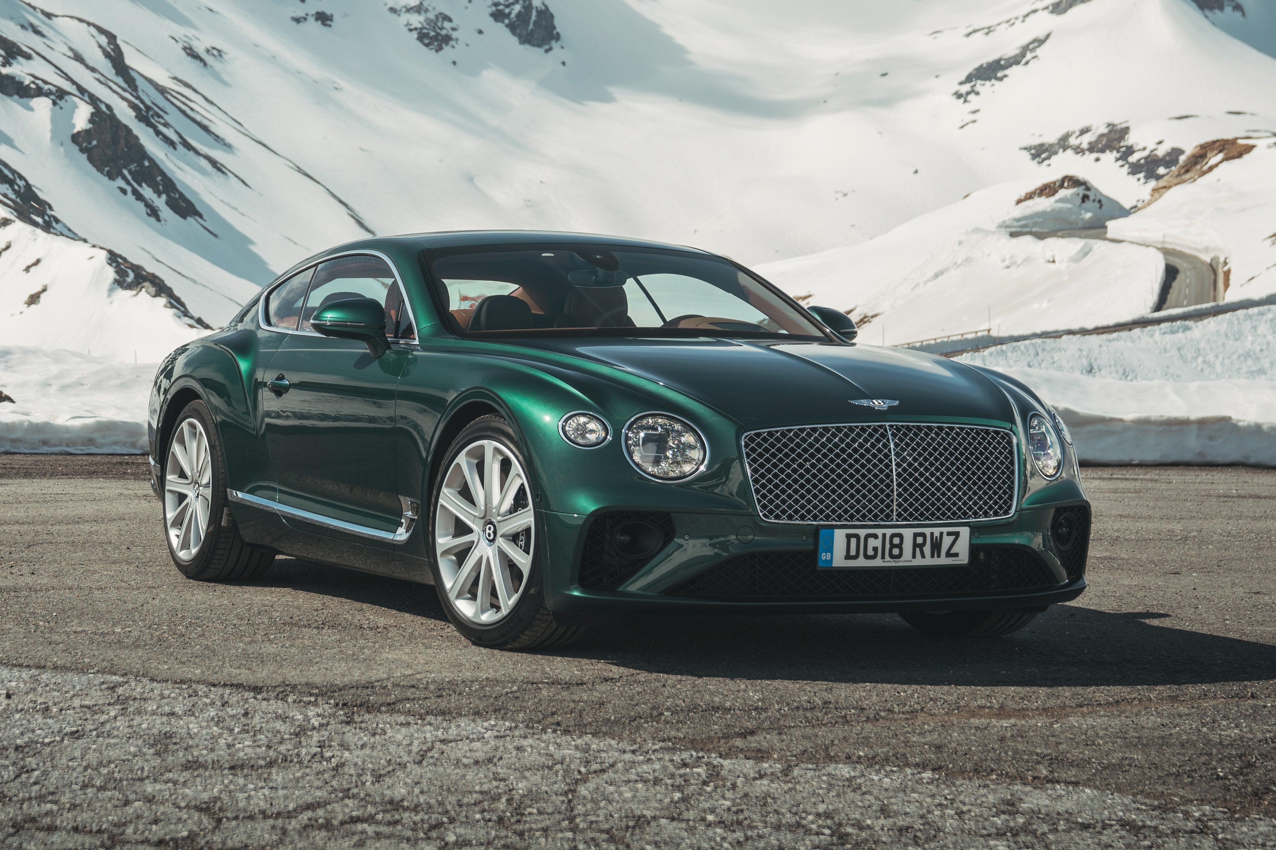 Bentley Continental GT Exterior Front