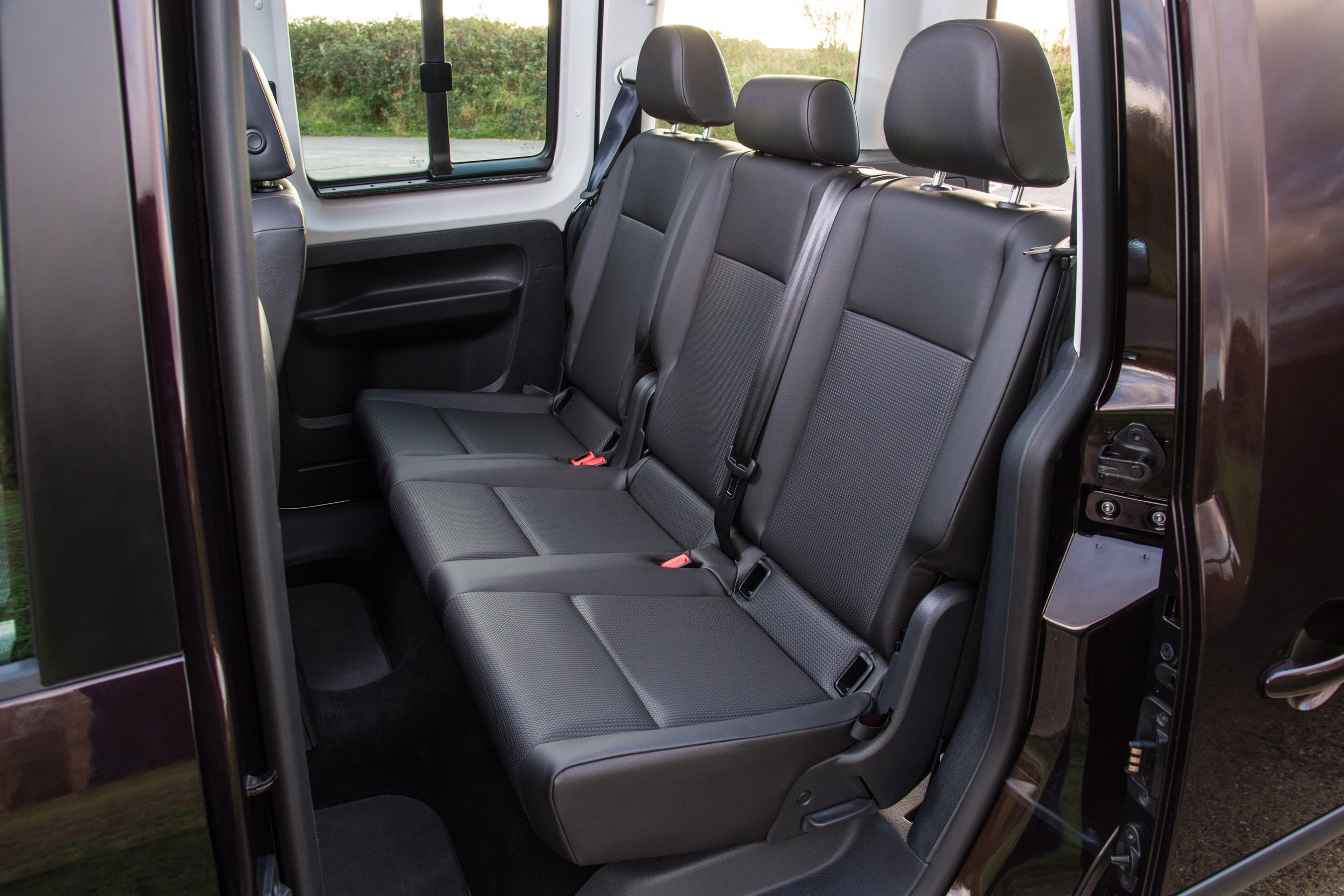 Volkswagen Caddy Life rear seats