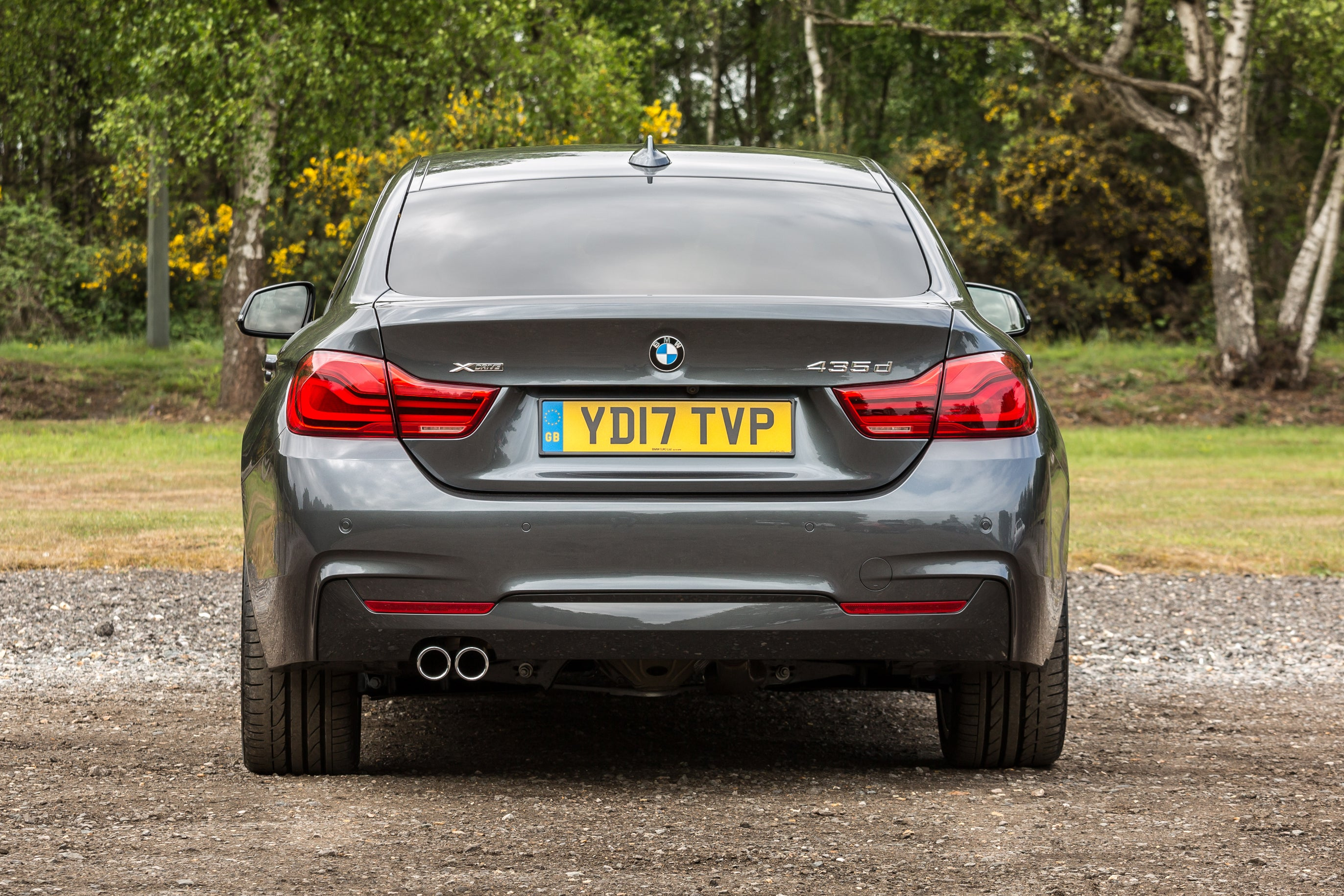BMW 4 Series Gran Coupe Exterior Back