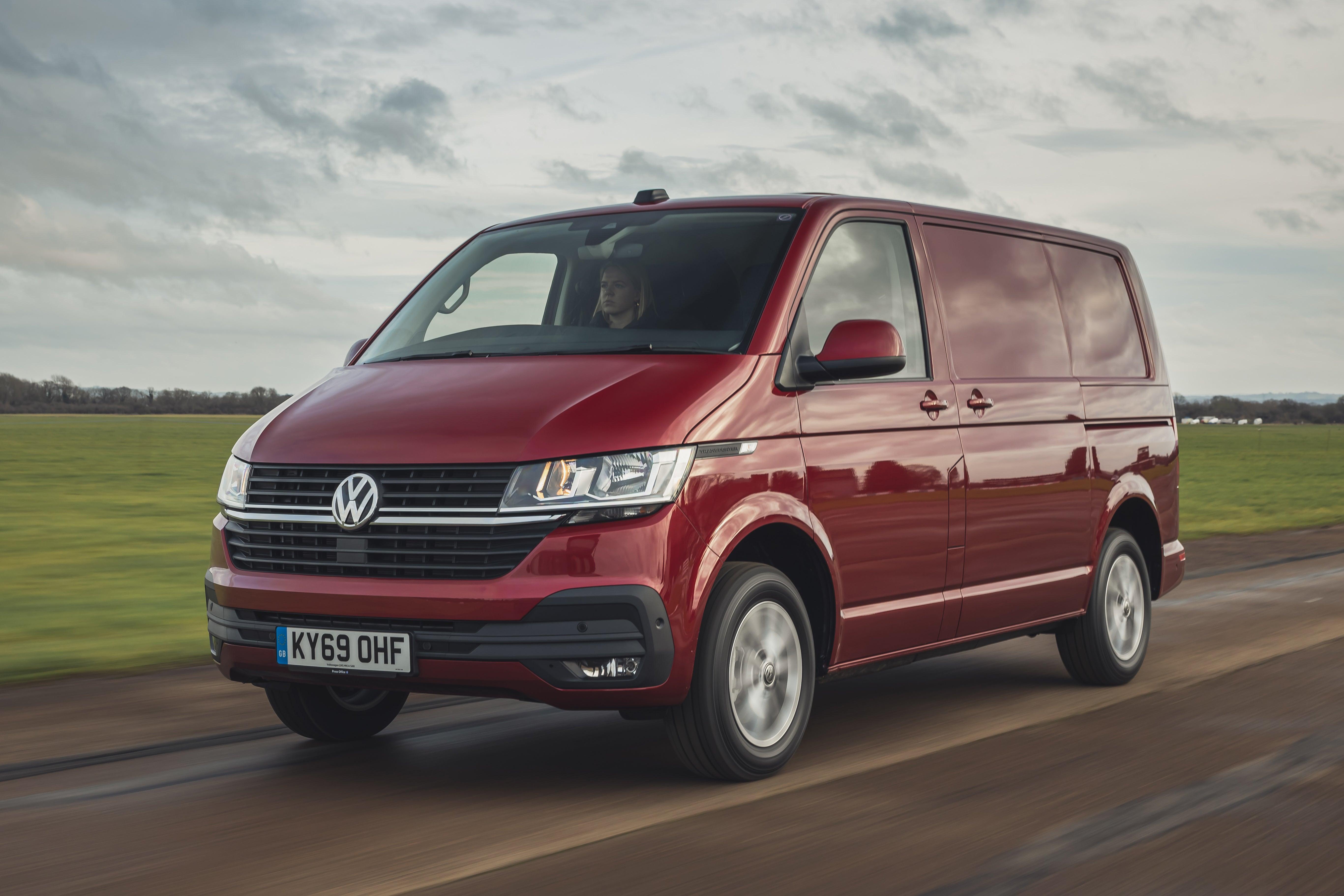 Volkswagen Transporter Front View