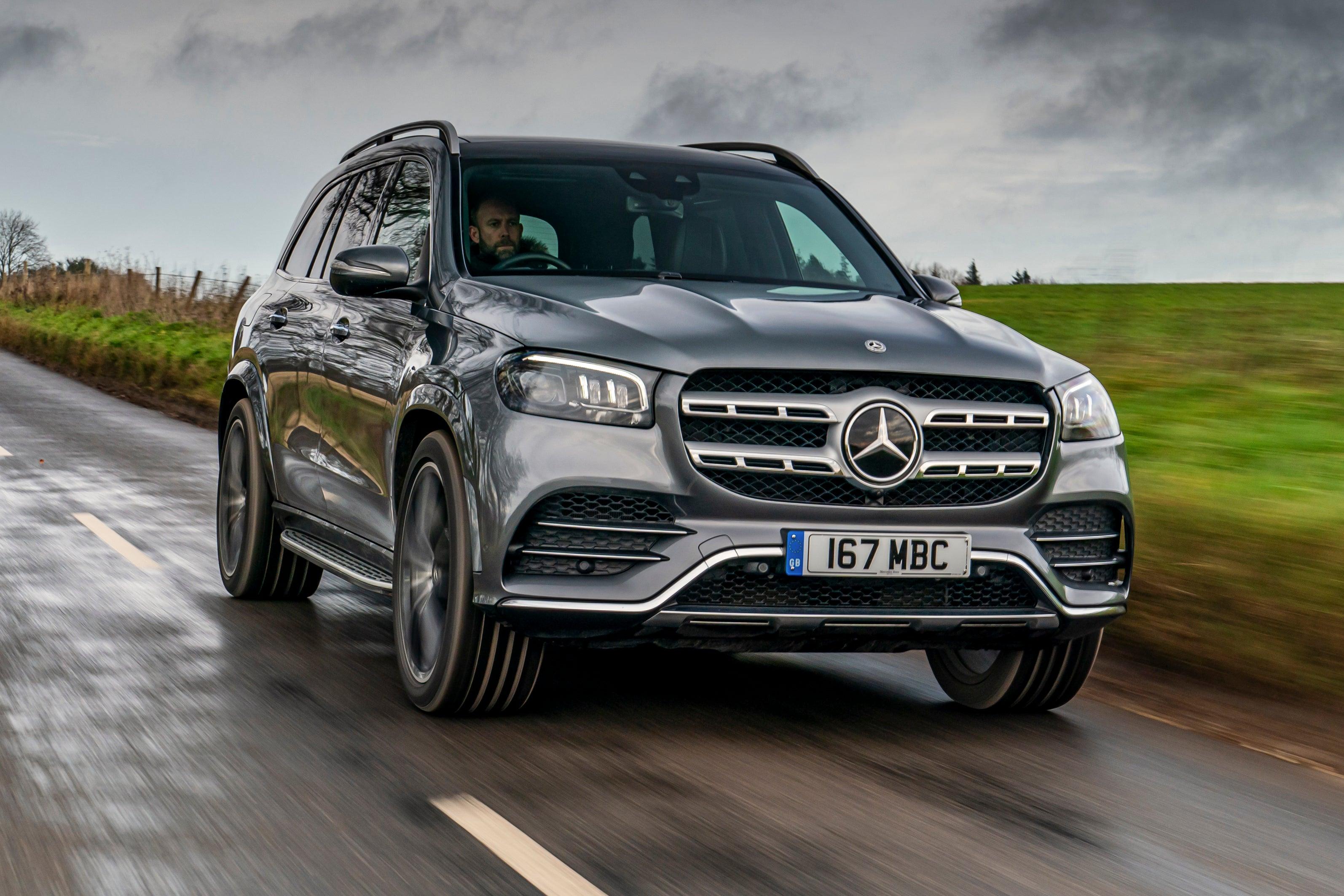 Mercedes GLS front exterior