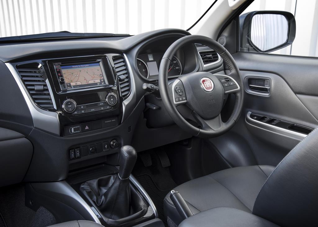 Fiat Fullback Interior