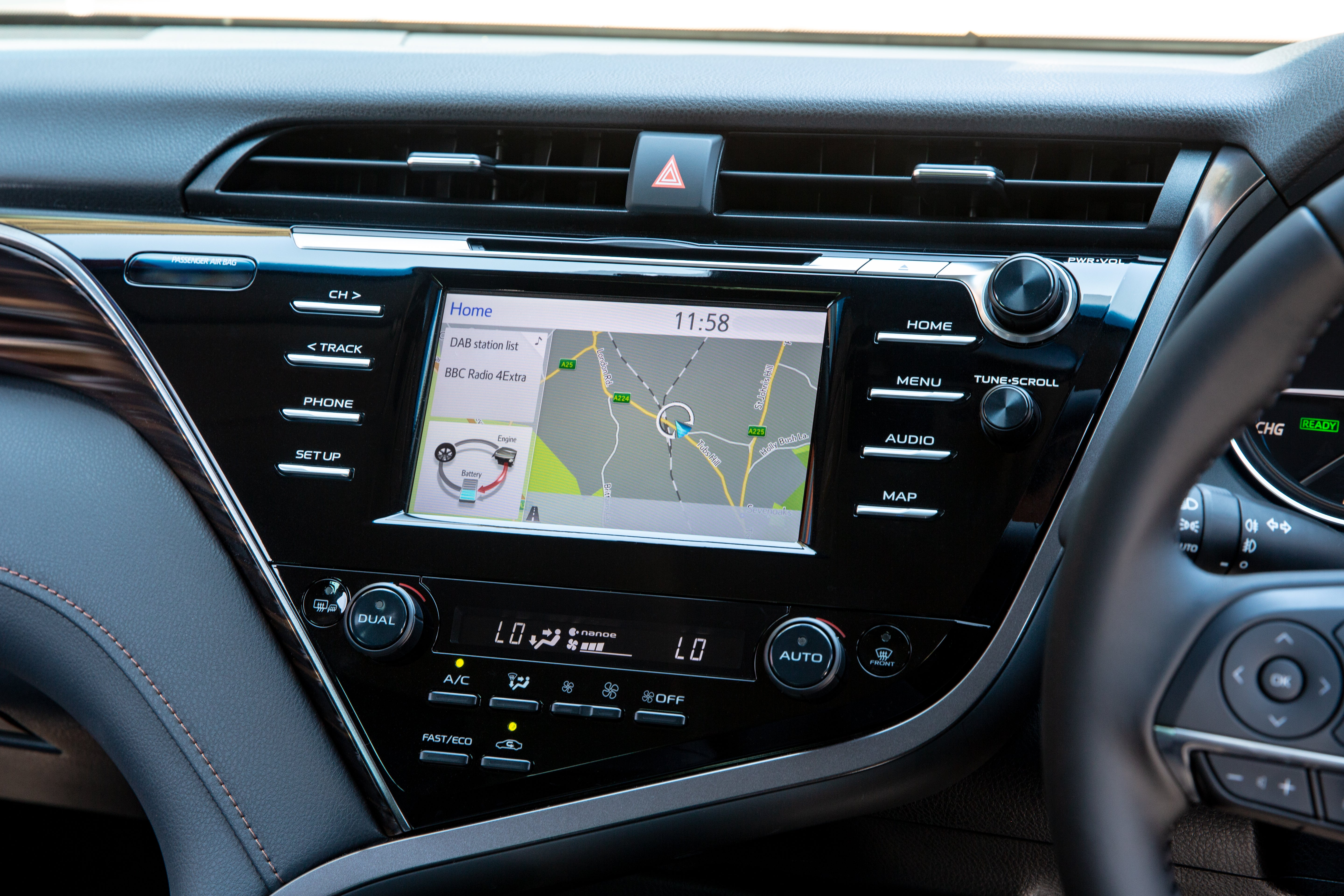 Toyota Camry Electric Infotainment