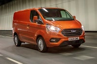 Ford Transit Custom driving