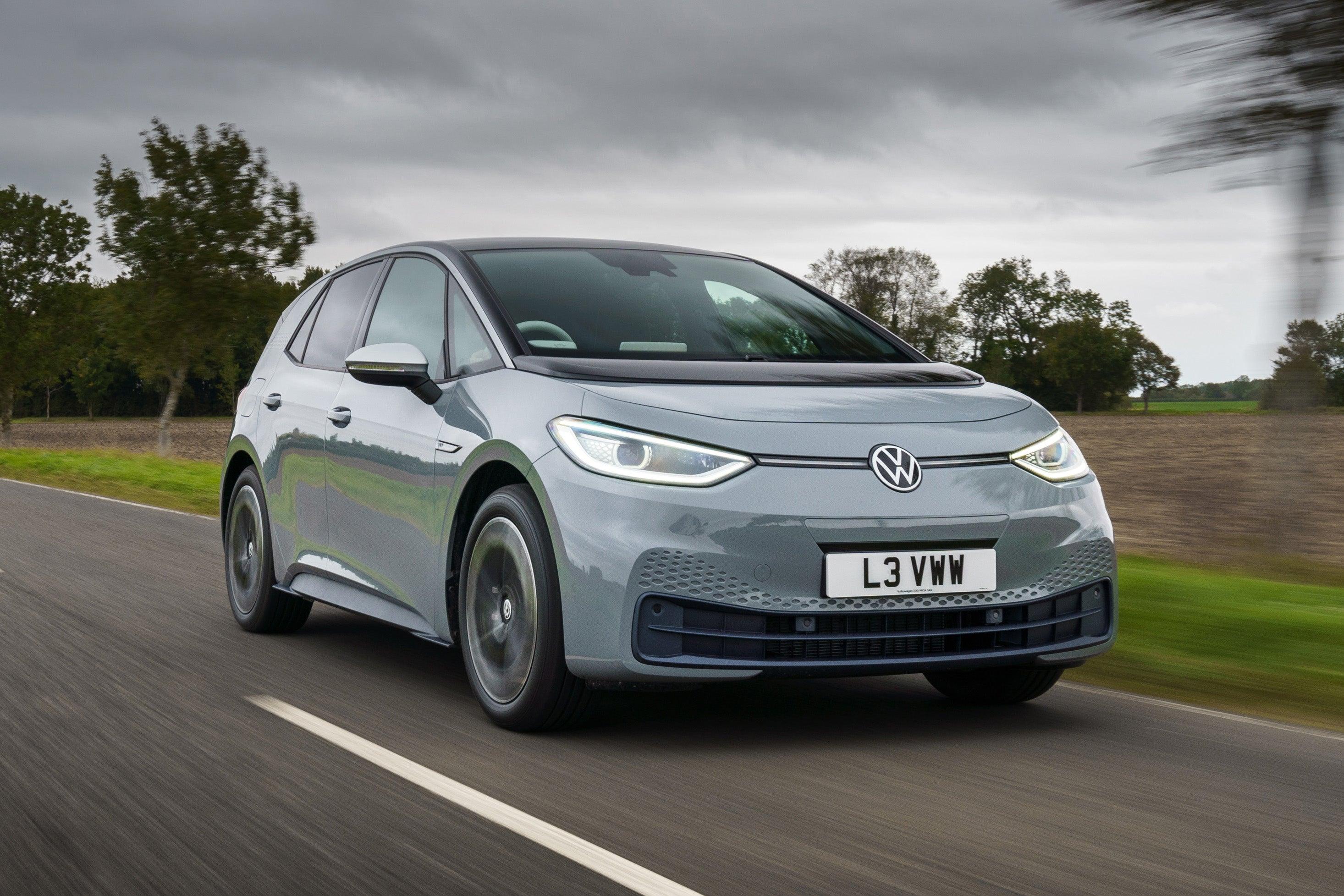 Volkswagen ID.3 EV driving