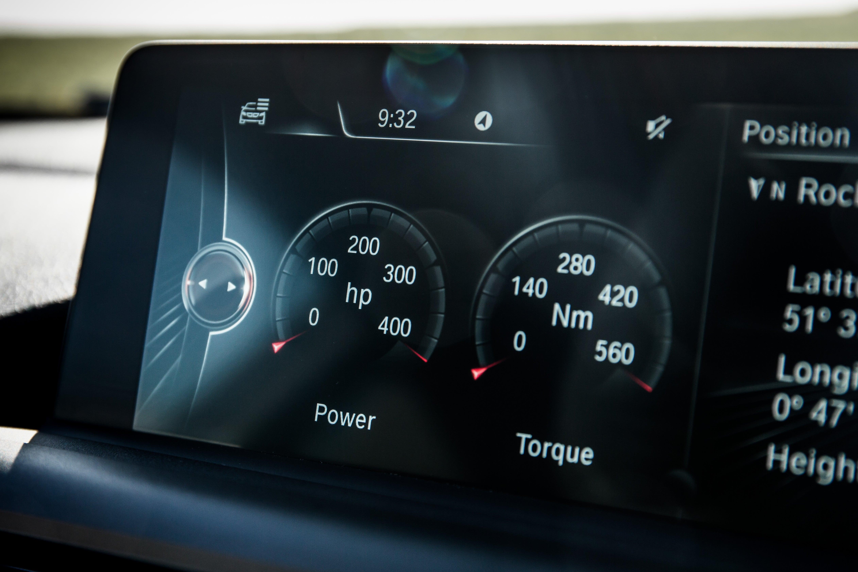 BMW M2 Media Screen