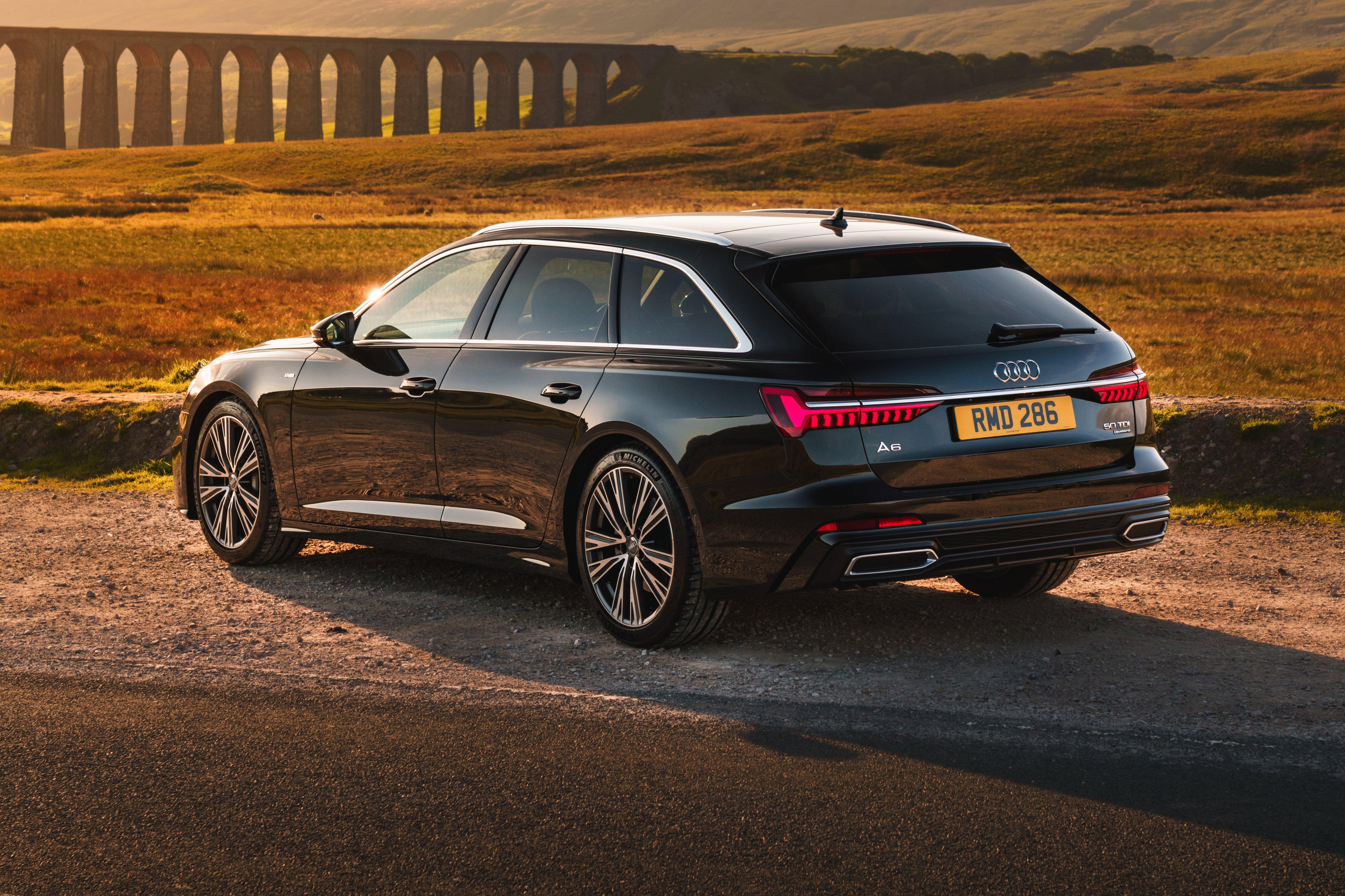 Audi A6 Avant Exterior Back
