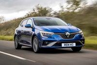 Renault Megane driving