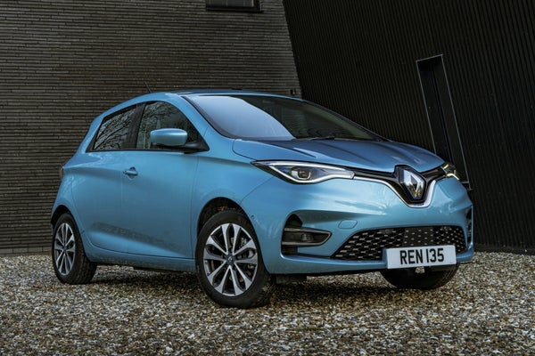 Renault Zoe Side Front View