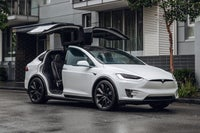 Tesla Model X Front Side View