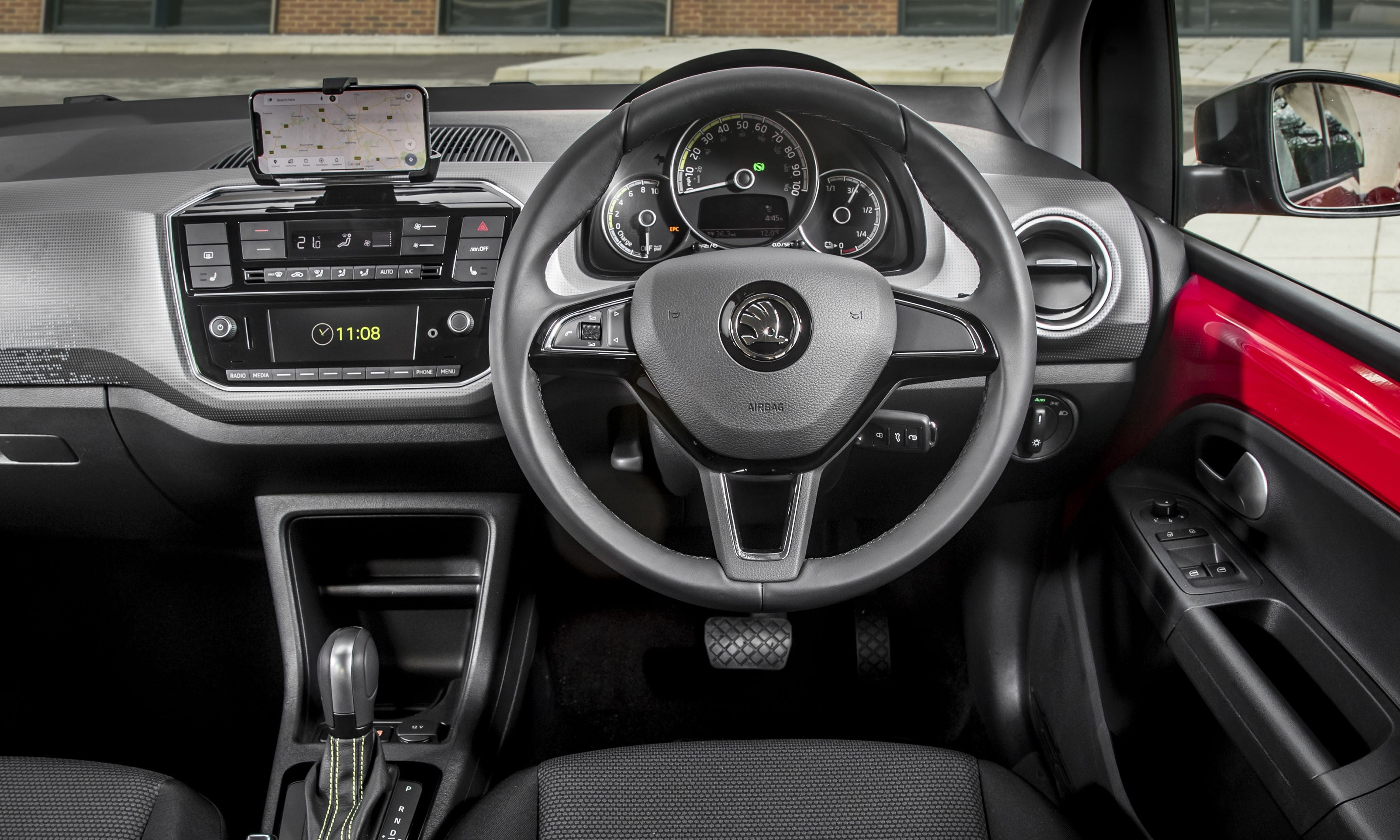 Skoda Citigo e-iV Driver's Seat