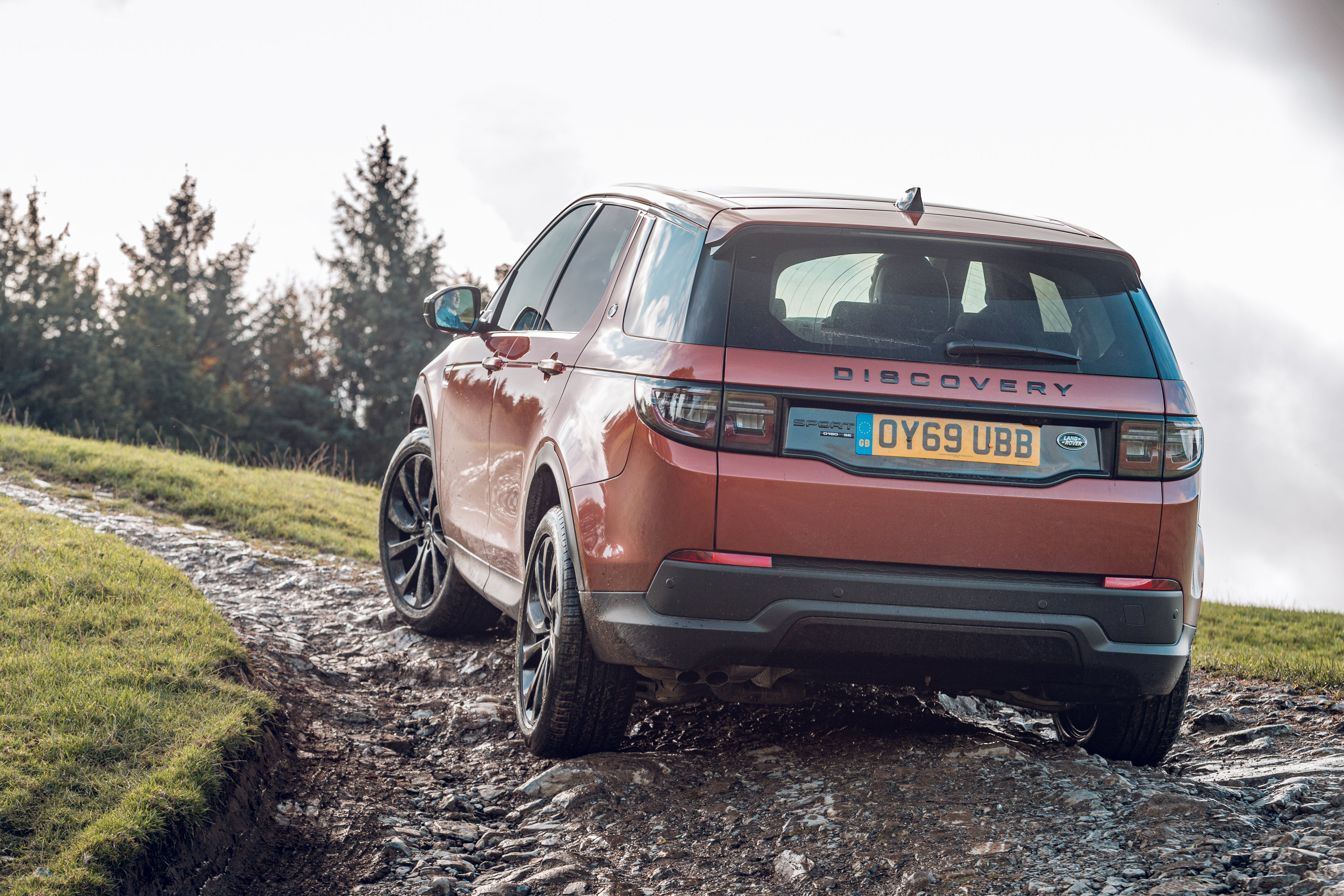 Land Rover Discovery Sport rear exterior