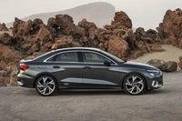 Audi A3 Saloon side
